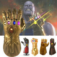 LED Light Thanos Infinity Gauntlet Legends Gloves Avengers Gifts for Kids