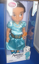 "DISNEY STORE ANIMATORS  DESIGNER PRINCESS TODDLER ""JASMINE"" COLLECTOR DOLL"