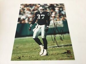 Johnnie Harris Hand Signed Autographed 8x10 Photo Oakland Raiders a