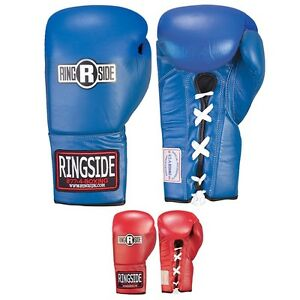 Ringside Boxing Competition Safety Gloves - Lace up