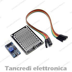 Sensore Pioggia, Livello Acqua, Neve, Meteo Sensor Modulo (Arduino-Compatibile)