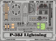 Eduard Zoom FE208 1/48 Lockheed P-38J Lightning Hasegawa