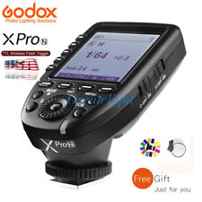 US Stock Godox XPro-N 2.4G TTL Wireless X System Flash Trigger For Nikon Camera