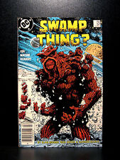 COMICS: DC: Saga of the Swamp Thing #57 (1980s), Adam Strange app - RARE (moore)