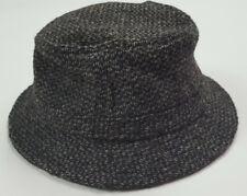 9d400299793 Vintage LL Bean Harris Tweed Gore Tex USA Made Weather Proof Wool Bucket Hat  S