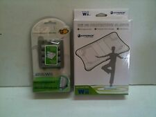 NEW Balance Board Protective Sleeve White + Rechargeable Battery Pak for WII Fit