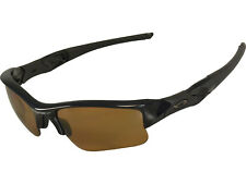 NEW Oakley Flak Jacket XLJ Polished Black Frame / Bronze Polarized Lens 26-243