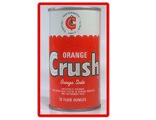 Orange Crush Soda Can  Advertising Refrigerator / Tool Box Magnet Man Cave