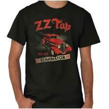 Zz Top Vintage Eliminator 80 Rock Concert Womens or Mens Crewneck T Shirt Tee