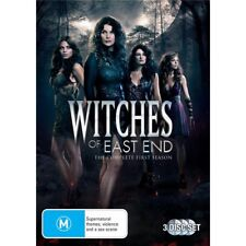 WITCHES OF EAST END-Season 1-Region 4-New AND Sealed-3 Disc Set-TV Series