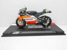 MOTO APRILIA RSW250 SEBASTIAN PORTO 05  IXO ALTAYA 1/24 MOTORBIKE REPSOL  MODEL