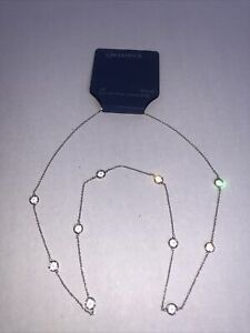"Brilliance 28"" long Necklace  chain 1/8"" Crystals from Swarovski NEW retails $60"