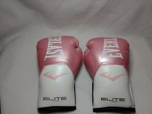 Everlast Elite Pro-Style Boxing Gloves Women's Pink Size Small
