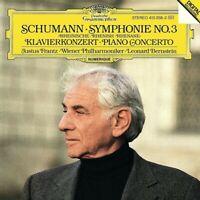 BERNSTEIN/FRANTZ/WP - SCHUMANN: SINFONIE 3,KLAVIERKONZERT  CD NEUF SCHUMANN