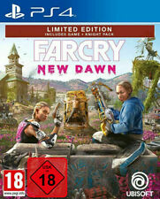 Ps4 Far Cry New Dawn Uncut Limited Edition incl. paquete caballero nuevo PlayStation 4