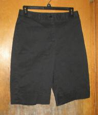 Jones New York Black Bermuda Length Dress Shorts Size 4