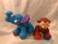 Fisher Price Amazing Animals Click Zoo Farm Train Elephant Monkey  replacement