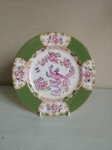 "Minton ""Green Cockatrice"" Tea/Side Plate"