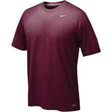 Nike Men's Legend Short Sleeve Tee, Maroon, Large