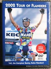 2002 Tour of Flanders World Cycling Productions 2 DVD set Andrea Tafi Clean