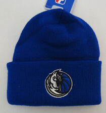 DALLAS MAVERICKS BEANIE SKULLY TOBOGGAN SKULL CAP HAT VINTAGE RETRO VTG NBA BLUE