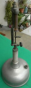 Vintage Coleman Quick-Lite 2-Mantle Kerosene Table Lamp