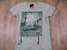 REVIEW schönes Shirt mintgrün m. Druck Gr. S  VEY1017