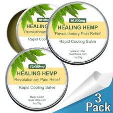10,000mg Hemp Balm Salve (3 Pack)- Pain Freeze For Pain Relief Muscles Arthritis