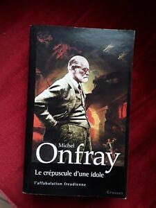 Michel Onfray/le crépuscule d'une idole/l'affabulation freudienne