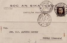 #COMO: testatina- SOCIETA' AN. SIKA