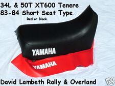 Yamaha XT600 Tenere 83-84 34 L 39E 39 F 50 T 50U 53R seatcover coprisella Funda De Asiento