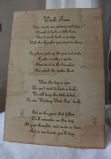 VINTAGE BIRDCAGE-Wedding Wish Tree Poem-Vintage Style-Beautiful Design-Unique
