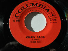 "FREDDIE HART Chain Gang 45 Rock Bottom 7"" Columbia 4-41456"