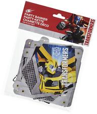 Transformers Party Banner Happy Birthday Bumblebee 1.8 Metres Optimus Prime