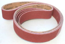 "2"" x 72""  Ceramic Sanding Belt - New To Ceramic?  On A Budget? 24 Grit - 3 Pack"