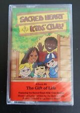 SACRED HEART KIDS' CLUB Album #6 Music Cassette NEW The Gift of Life Free Ship