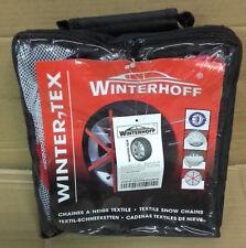 CHAINE CHAUSSETTE A NEIGE TEXTILE pour pneu 155/80 R14 marque winterhoff