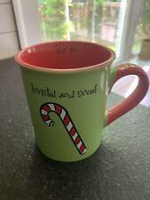 Twisted and Sweet, Like You 18oz. Coffee Mug Holiday Max & Lucy Gibson Ceramic