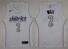 NEW Washington Wizards #2 John Wall White City Edition Swingman Jersey