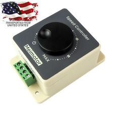 DC 10-60V 20A Pulse Width Modulator Control Waterproof PWMMotor Speed Controller