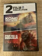 Kong Skull Island 2014 & Godzilla 2017 Dvd 2 Film Collection New