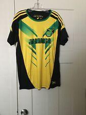 Men's Jamaica Futbal Soccer Jersey #10 size L - Nwot