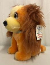 "Walt Disney Lady and the Tramp Vintage Lady Plush Dog Toy 7"" New!!"