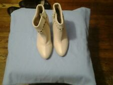 New Michael Kors Beige  Booties Boots Size 6M Women's