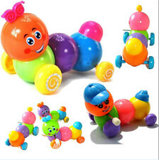 Colorful Caterpillars Baby Kids Inchworm Twist Forward Movement Clockwork Toy