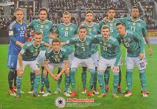 DEUTSCHE NATIONALMANNSCHAFT - A3 Poster (42 x 28 cm) - DFB Fußball Clippings NEU