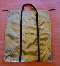 Travel Carry Bag Only NO BED storage tote for Insta Bed Raised Air Bed Beige