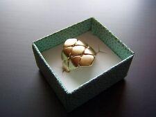 Pierre Lang Ring Gr. 7 (18 mm) gold matt Rauten ** Topzustand **