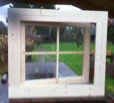 Fenster Holzfenster Carport Gartenhausfenster 62 x 62 cm Dreh ++NEU++
