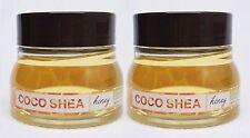 2 BBW Coco Shea HONEY Ultra Conditioning Bath Shower Jelly Rich Lather Wash Gel